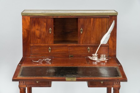 Writing table, c. 1788, Purchase, 1939 (W-220).