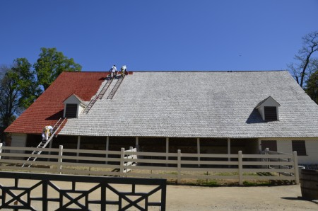 Work on the Stable, 2015, MVLA.