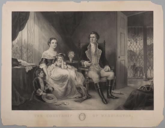 Washington Marries Martha Dandridge Custis
