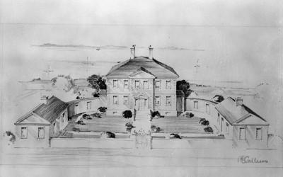 Headquarters of General Braddock