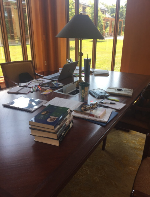 The Washington Library's Reading Room